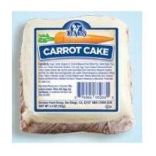 Ne Mos Carrot Cake Square - 6 count per pack -- 6 packs per case. ()