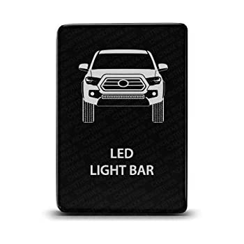Blue LED CH4x4 Push Switch for Toyota Tacoma 3rd Gen LED Pods Symbol