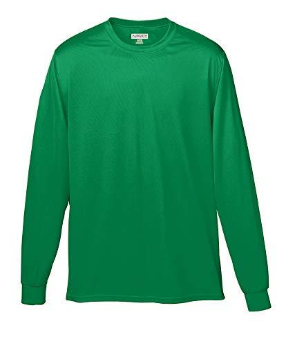 - Augusta Sportswear Boys' Wicking Long Sleeve T-Shirt M Kelly