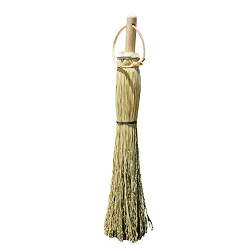 Authentic Hand Made All Broomcorn Broom (17.5-Inch/Hand)