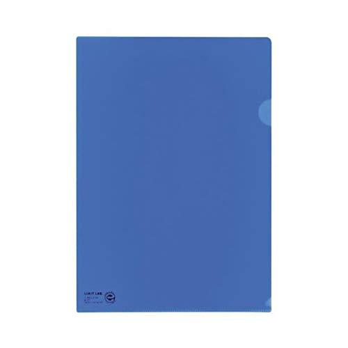 (まとめ)LIHITLAB クリヤーホルダー F-78EC-8 A4 青 5枚【×50セット】 生活用品 インテリア 雑貨 文具 オフィス用品 ファイル バインダー クリアケース クリアファイル 14067381 [並行輸入品] B07R7XB36M