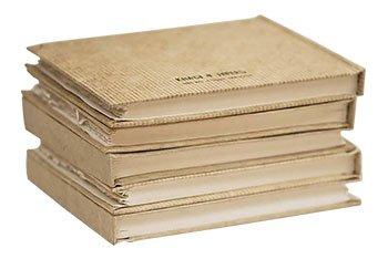 Khadi Handmade Hardback Book 13 x 16 cm White Smooth by Khadi Papers