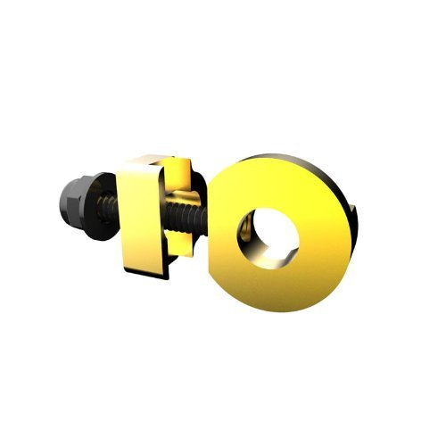 Cycle Group PX-CT1300MIN-GD Promax 10mm x 1 Axle Hole C-2 Chain Tensioner, Gold by Cycle Group