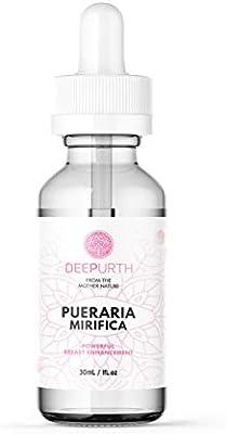 Deep Urth Pueraria Mirifica Serum, 1 oz - Breast enlargement & firming enhancement Serum -Highest & purest quality ingredients to ensure maximum results