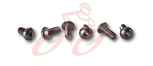 Replacement Road Cycling Cleat Screws - SPD-SL (12mm - Extra Long - Set of ()