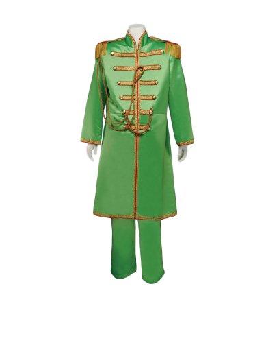 Men's Beatles Sgt. Pepper's Green (John) Costume, XXLarge (Sgt Pepper Costume)