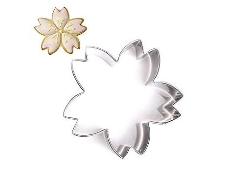 Moldes de alimentos Flor de Cerezo Molde para Hornear Juego de Cortador de Galletas de Acero