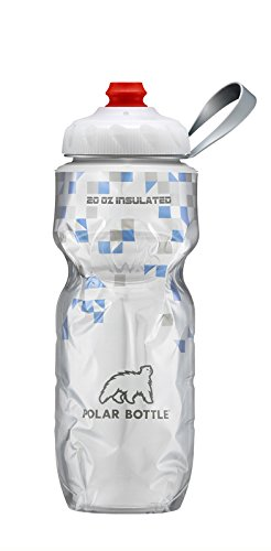 Polar Bottle Zipstream Breakaway - 20oz Insulated Water Bottle (Blue)