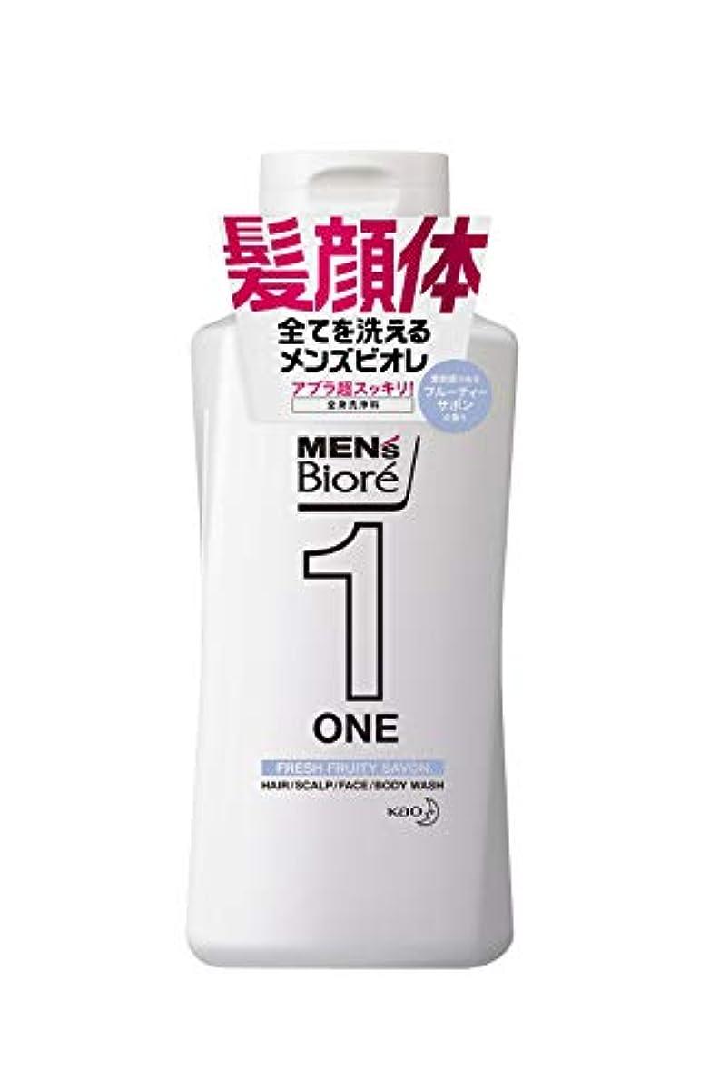 [해외] 남성 비오레 올인원 전신 세정제  프루티사봉의 향기 레귤러 200ML