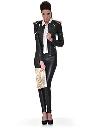 de clutch CNTMP de para señora x fiesta tendencia metálico bolsas 5 de bolsos bolso mano 31 x de 2 an bolso cuero x l 15 bolso x bolso Negro a bolso cm clutch xWWnAUPr