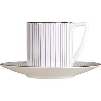 Wedgwood Jasper Conran Pinstripe Espresso Cup 0.075L (Cup Only) -