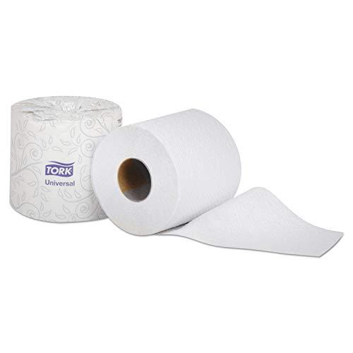 Tork TS1639S Universal Single-Ply Canada Toilet Tissue Roll, White