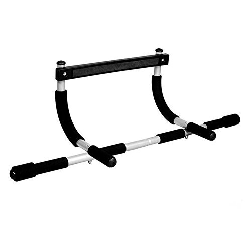 Gym Chin up Pull up Bar,Multi function Portable Home Health and Fitness Exercise Trainer Machine Upper Body Gym Pullup Iron Bar
