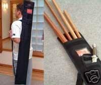Playwell Waffentasche für Bo, Jo-Stab, Bokken-Schwert, 134,6 cm