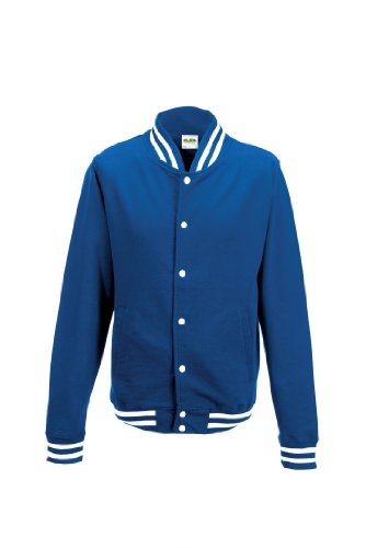 AWDis Men's College Jacket Royal M by Awdis