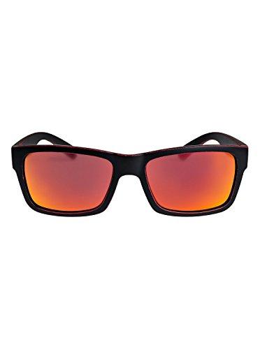 Red para Hombre Quiksilver Red Deville EQYEY03043 worn Black sol Gafas Ml Matte de qwxOfvZ