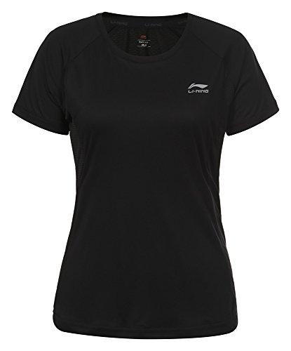 LI Ning–Camiseta de mujer Stacey negro