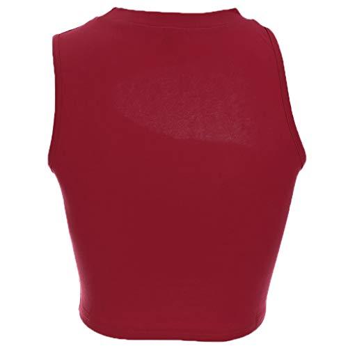 AOJIAN Tunic Sweatshirts for Women,Tunic Sweater,Tunic Dress,Tank Tops for Women,Tank Tops for Men,Tank Tops,Tank Tops with Built in Bra,Tankini Swimsuits for Women with Shorts Red by AOJIAN (Image #3)