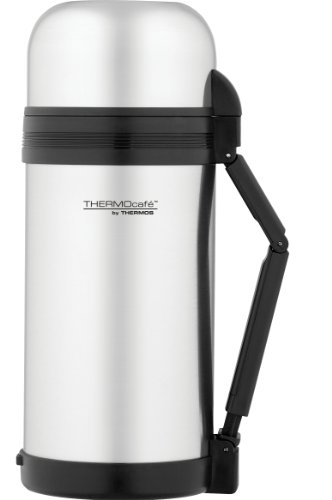 Quality Thermos Thermocafe Multi Purpose Food Drink Insulated Steel Flask Travel by Thermos