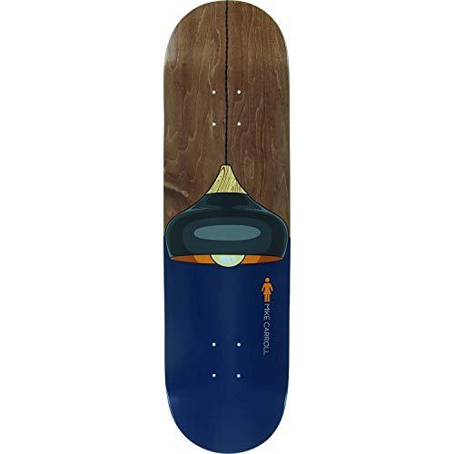 キャベツスプリットただGirl Skateboards Mike Carroll Illuminatedスケートボードデッキ – 8.37