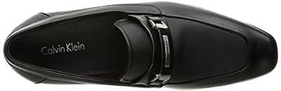 Calvin Klein Men's Barker Lether Slip-On Loafer