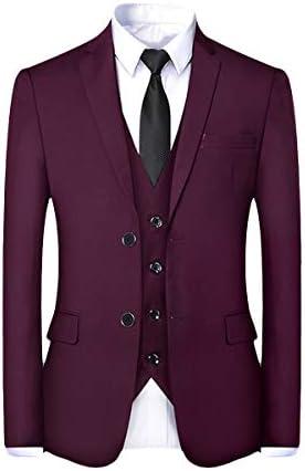スーツ メンス スリーピース 2つボタン 1つボタン 長袖 全5色