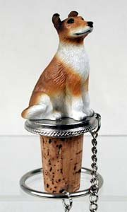 Collie Bottle Stopper (Smooth -