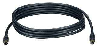 BLACK BOX EHN058-0025 S-VIDEO CABLE, 25FT, BLACK by Black Box
