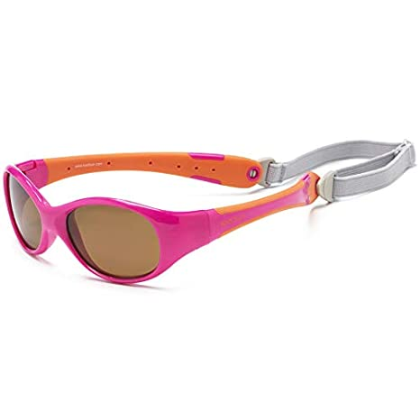 KOOLSUN - Flex - gafas de sol para bebe - Hot Pink Orange ...