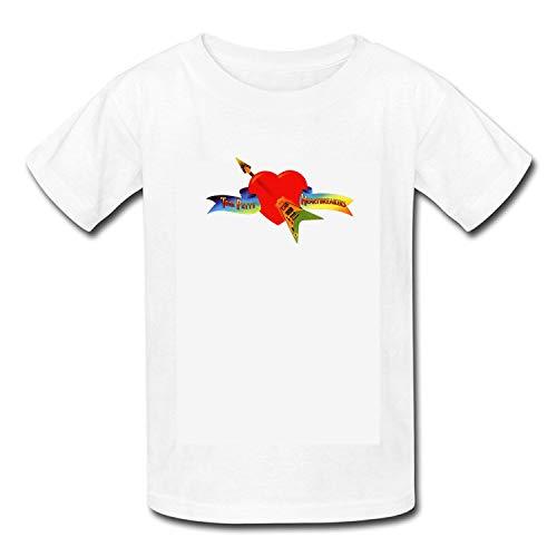 zebalon Unisex Toddler Kids Boys/Girls Tom - Petty - and - The - Heartbreakers - Tom - Petty T-Shirt White