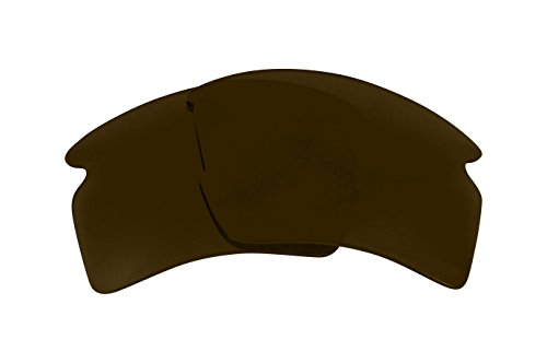 Replacement Lenses Compatible with OAKLEY FLAK 2.0 XL Polarized Bronze Brown