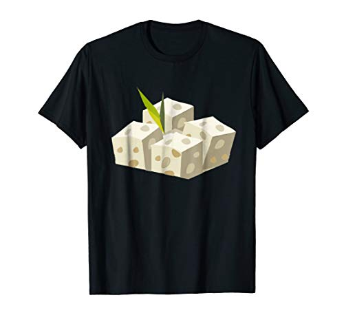 Tofu Cubes T-Shirt Funny Halloween Party Costume