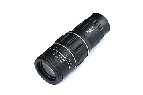 Bow 16x52 Monocular Telescope Low Light Night Vision Telescope for Bird Watching/Hunting/ Camping/Hiking / Golf/Concert/ Surveillance