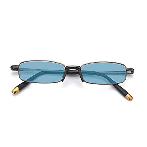 MINCL/NEW Vintage High Qulity Small Sunglasses Womens/Mens Fashion Classic UV400 Designer Eyewear - Faces Small Designer Sunglasses