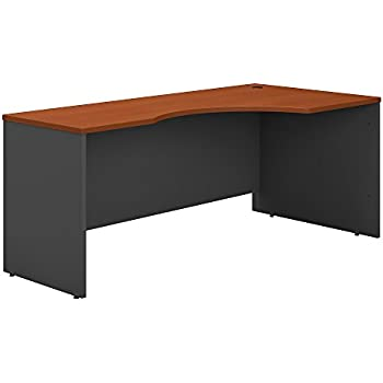 series corner desk. Bush Business Furniture Series C 72W Right Handed Corner Desk In Auburn Maple