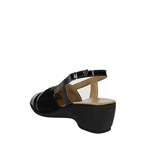 VS Noir Soft Sandale IO570 Cinzia Femme 003 ExPfnwTTq