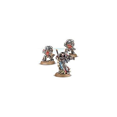 Games Workshop Warhammer 40k Grey Knights Strike Squad: Toys & Games
