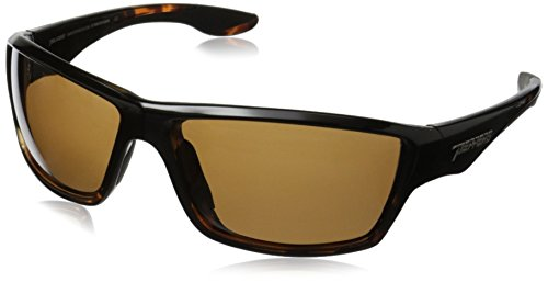 (Pepper's Pipeline MP5609-52 Polarized Wrap Sunglasses, Shiny Black/Tortoise/Brown, 65 mm)