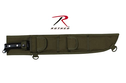 - Rothco 18'' Molle Compatible Machete Sheath, Black