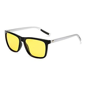 TL-Sunglasses Unisex atrás Piazza Gafas de Sol polarizadas Lentes DE Espejo Vintage Gafas de Sol para Hombre Mujer Gafas de Sol Polaroid UV400,KP7031 C10: ...
