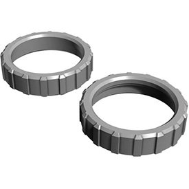 Hayward HAXNUT1930 Union Nuts Replacement for Hayward H-Series Ed1 and Ed2 Style Pool Heater, Set of 2