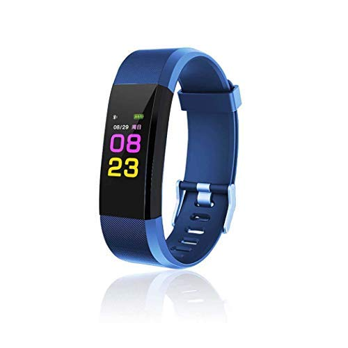 Kindsells Smart Wristband with Heart Rate Monitor/Sleep Quality Monitor/Steps Counter/GPS Tracker and More, Smart Wristband Watch for Android and iOS Clips, Arm & Wristbands