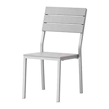 Ikea FALSTER - Silla, Color Gris: Amazon.es: Hogar