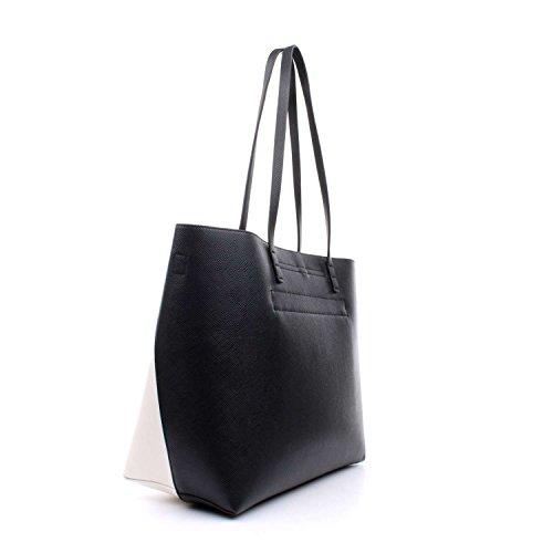 La Martina , Damen Schultertasche schwarz schwarz