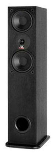 "MTX Audio MTX Dual 6-1/2"" 300W 2-way Monitor Speaker (Each) Black ash MONITOR600I"