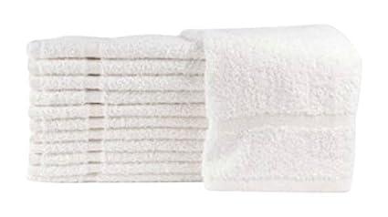 American molinos de Terry 100% algodón economía salón toallas Gimnasio toallas toalla de mano,