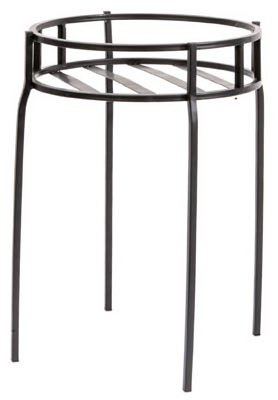 Panacea Contemporary Plant Stand, Black,