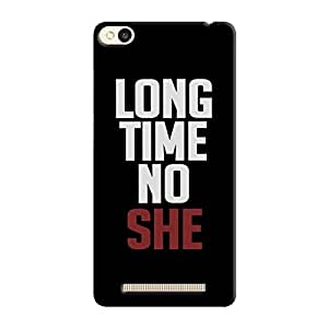 Cover It Up - Long Time No She Redmi 3s Hard Case