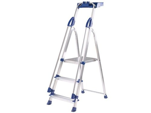 Blue Seal 3-Tread Aluminium Folding Platform Steps Abru AAS105