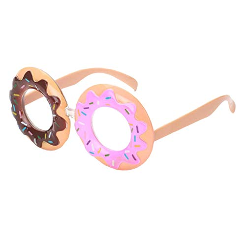Prettyia Assorted Novelty Sunglasses Funny Party Glasses Costume Photo Props for Kids Adults - Doughnut, as described ()